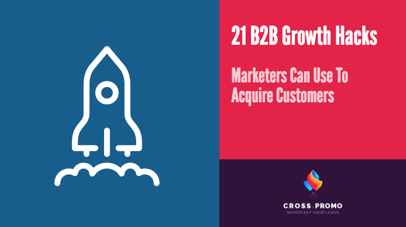b2b Growth hacks for saas businesses